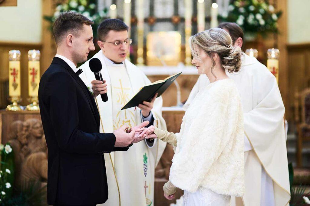 wzruszająca przysięga małżeńska