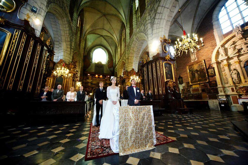 ślub w kościele bożego ciała w krakowie
