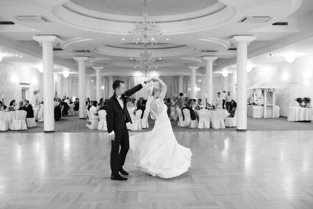 choreografia na pierwszy taniec pary młodej