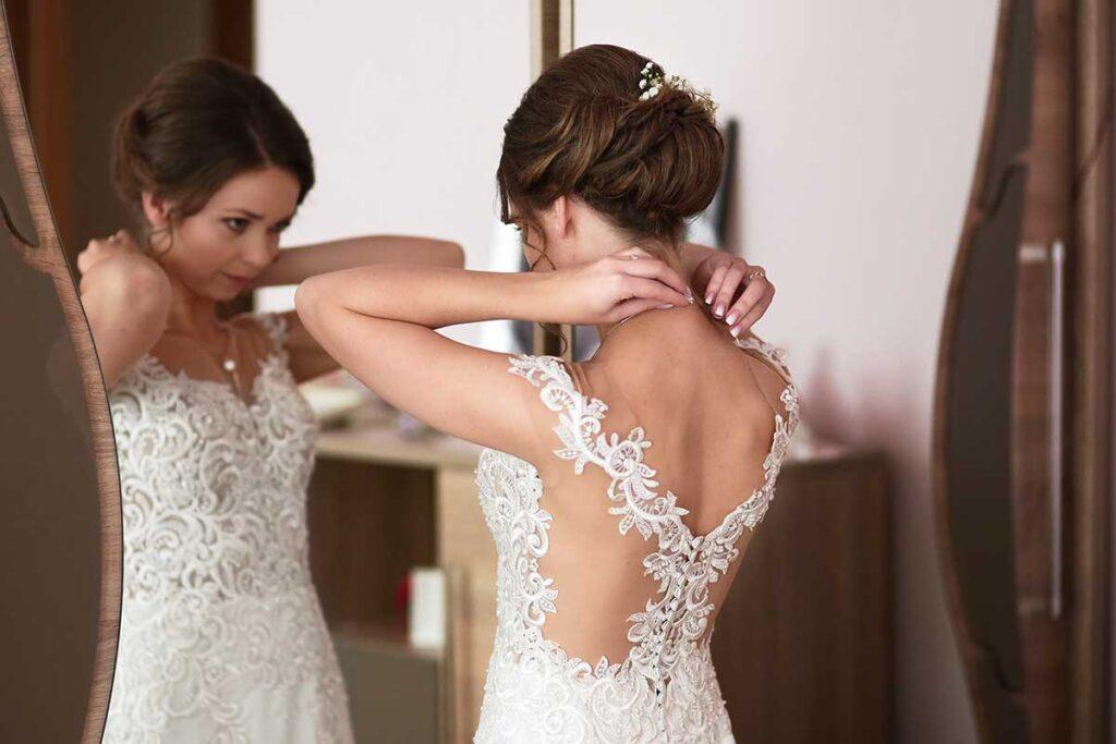 piękna suknia ślubna w limanowej