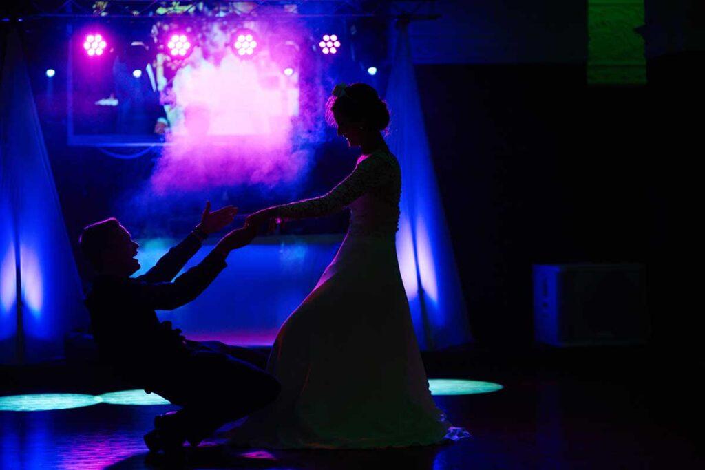 taniec w blasku reflektorów