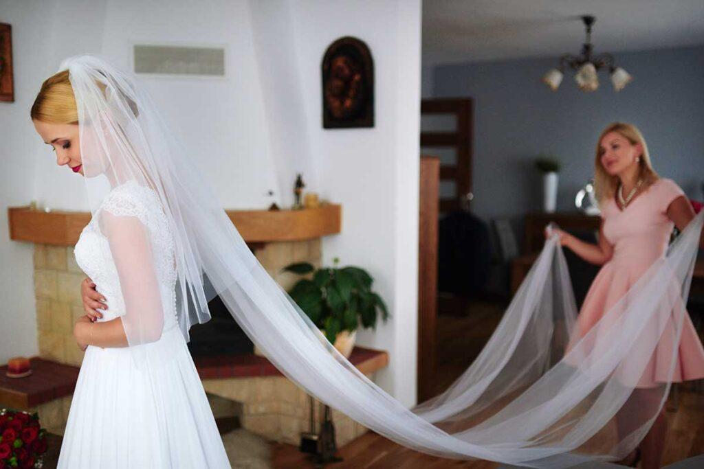 fotografia ślubna przygotowań