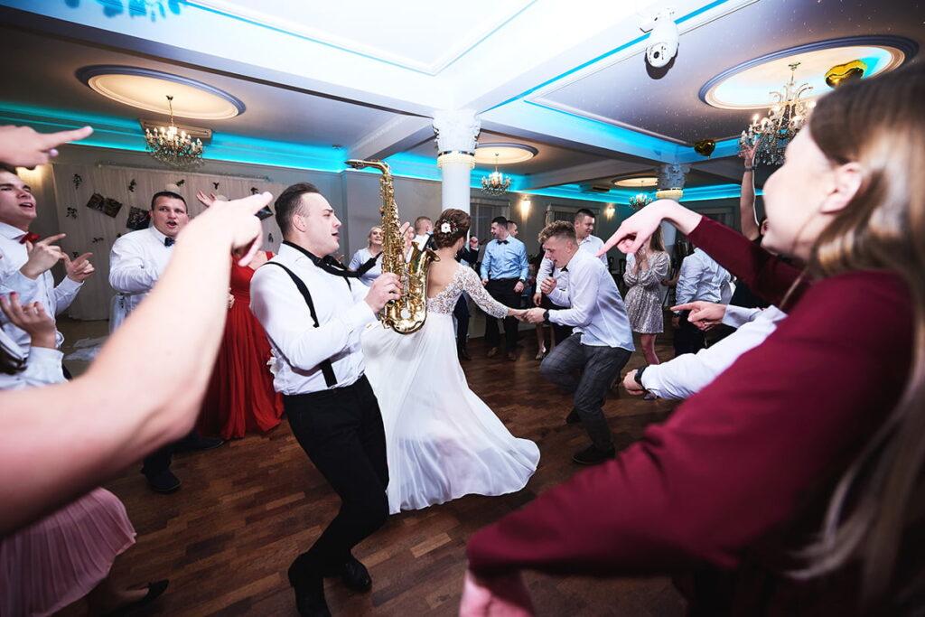 szalona zabawa weselna w sułkowicach