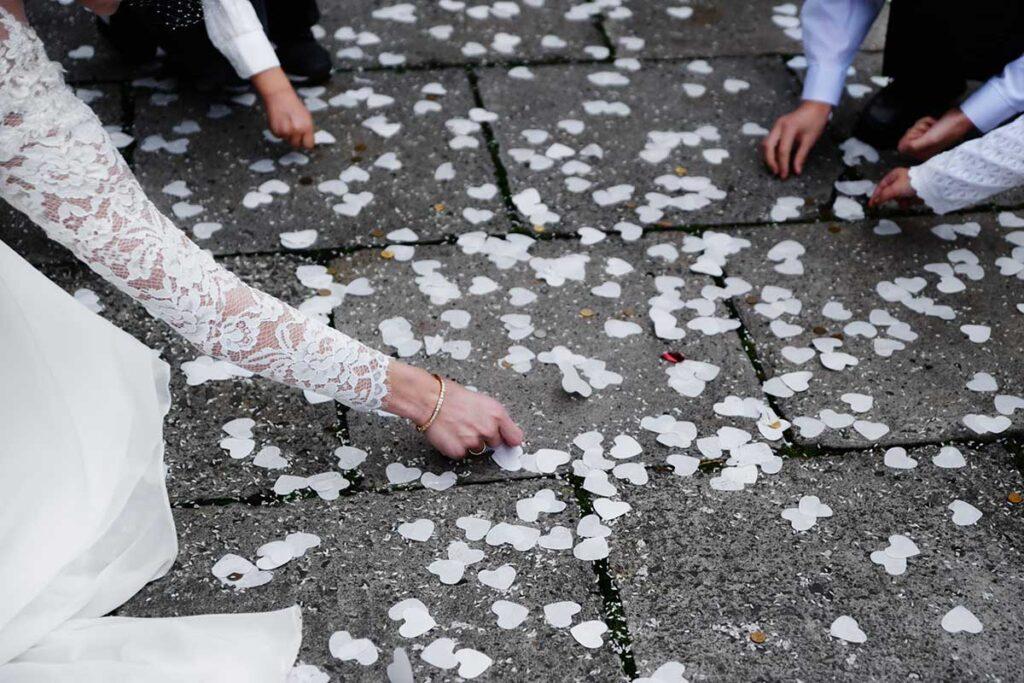 zbieranie grosików po ślubie