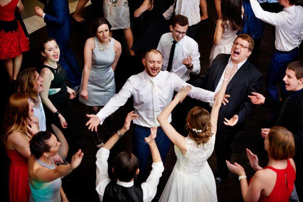 fotografia ślubna i przyjęcie weselne