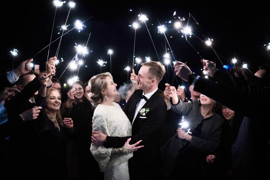 W dniu ślubu Moniki i Marka