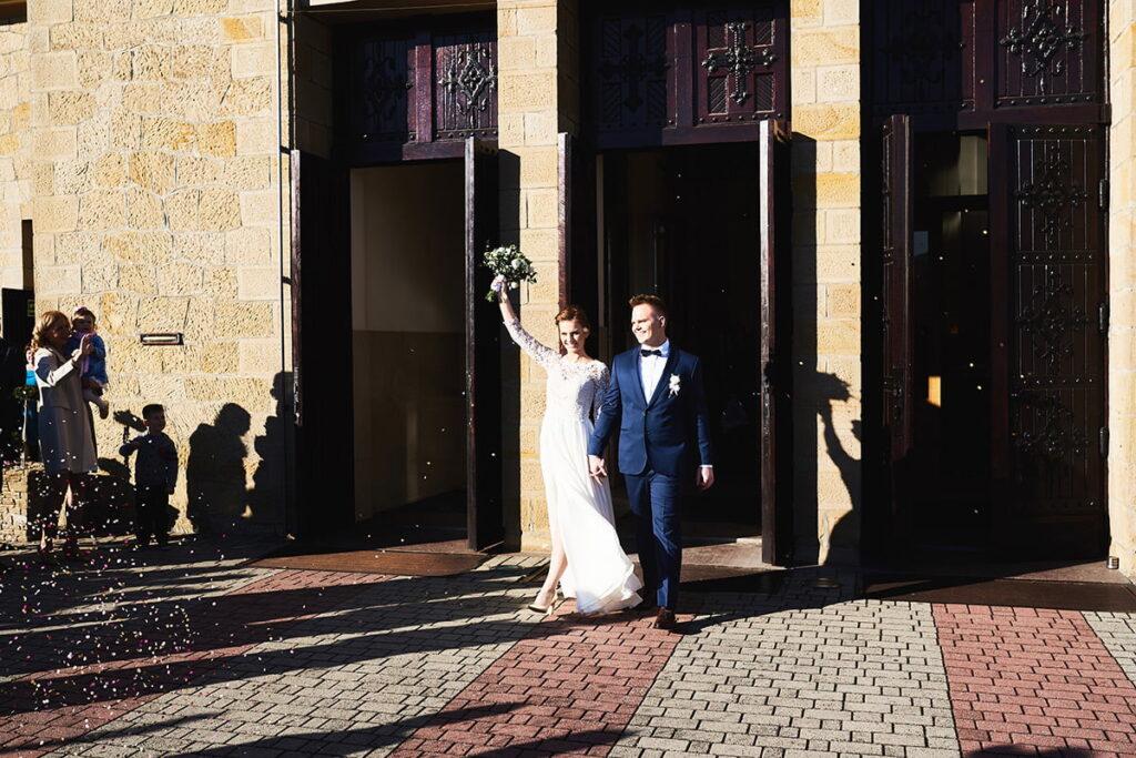 Ceremonia ślubna w Sułkowicach