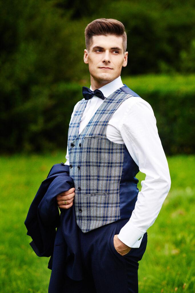 Pan Młody moda męska